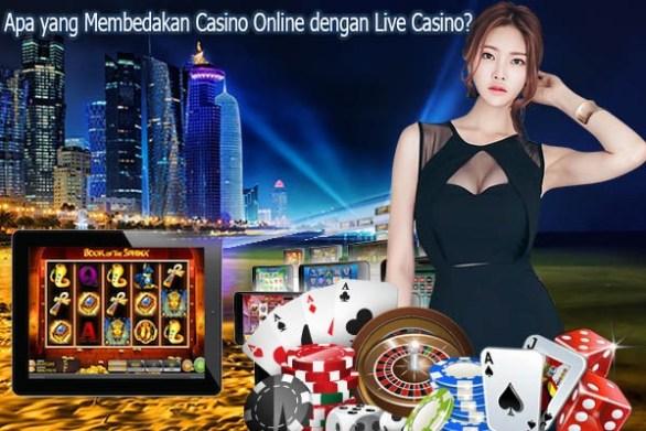 Perbedaan Permainan Judi Casino Dan Judi Casino Online.
